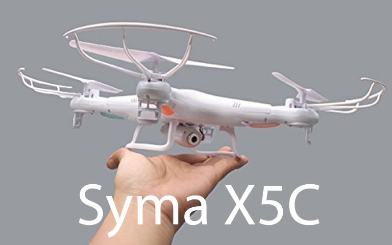 Take Overhead Videos To New Heights With The Syma X5C 2