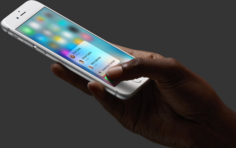 The Apple 3D Touch May Be The Company's Biggest Innovation To Date