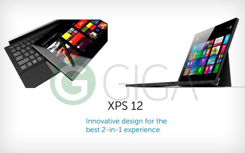 The Next Dell's XPS 12 Looks Like a Direct Competition to Microsoft's Surface