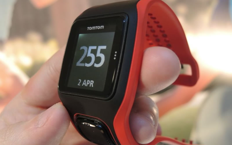 The TomTom Multi-Sport Cardio Sport Watch with GPS