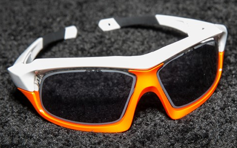 Uvex Variatronic Cycling Glasses Changes Tint With a Button or on Their Own