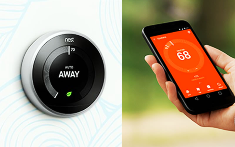 3rd Generation Nest Learning Thermostat Changes Temperature, Hands-Free