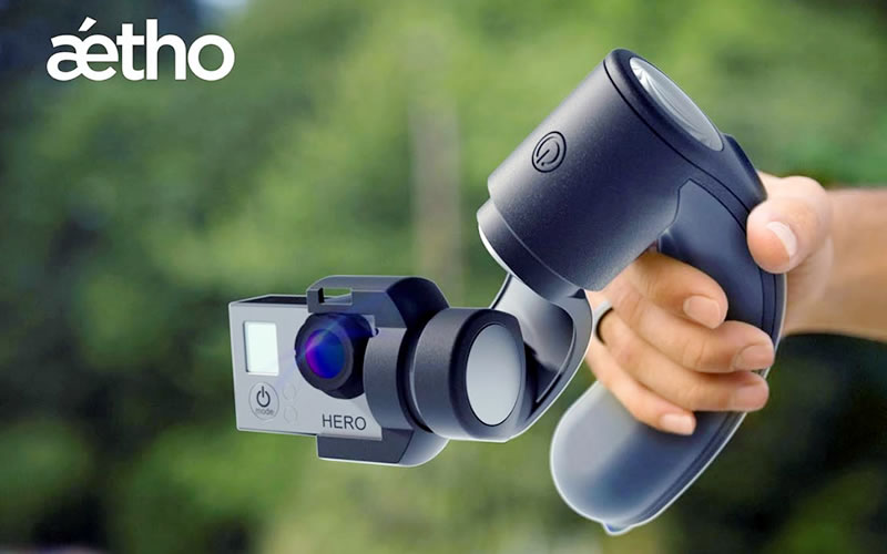 Aetho's 'Aeon' GoPro Stabilizer Looks, and Works Like a Charm