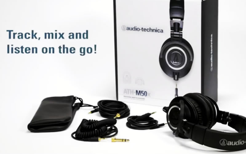 Audio-Technica ATH-M50xBL Review : Where Performance Meets Professional