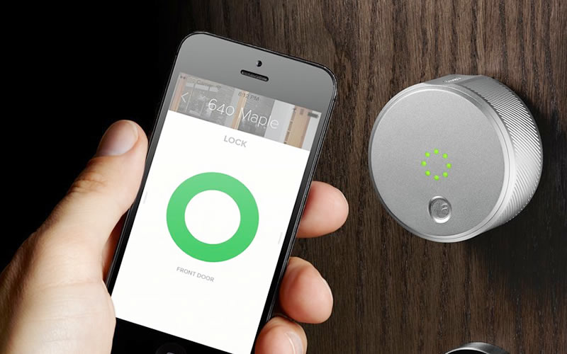 August Smart Lock - Get Inside Your Home Without a Key