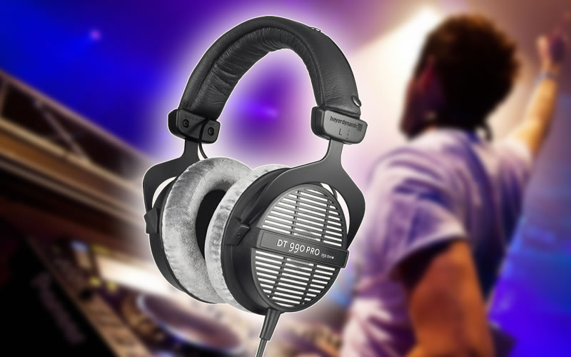 Beyerdynamic DT-990-Pro-250 Professional Acoustically Open Headphones Are Made for Studio Applications