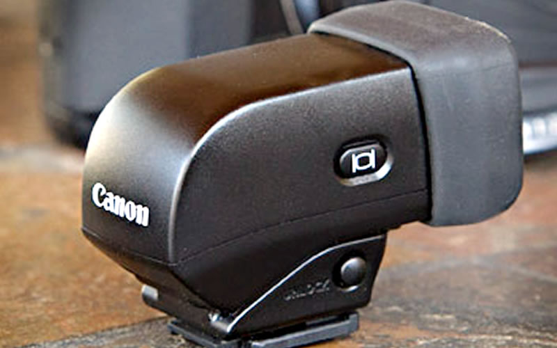 Canon Electronic Viewfinder EVF-DC1 Review : Add What's Missing in Compact Digital Cameras