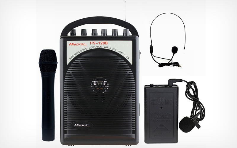 Hisonic HS120B Review : A Rechargeable and Portable PA System