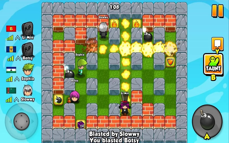 How To Play Bomber Friends on Laptop Computer or Windows Tablet