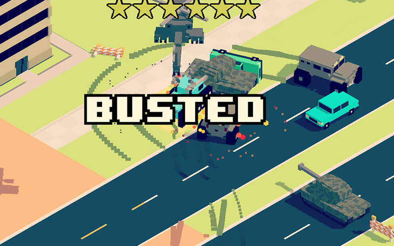 How To Play Smashy Road: Wanted on Laptop Computer or Windows Tablet