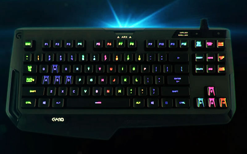 Logitech G410 Atlas Spectrum TKL Review : The Portable Keyboard for Gaming