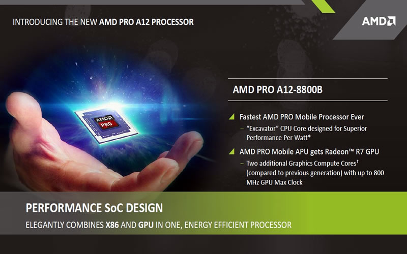 Looking at the AMD 6th Generation Pro APUs
