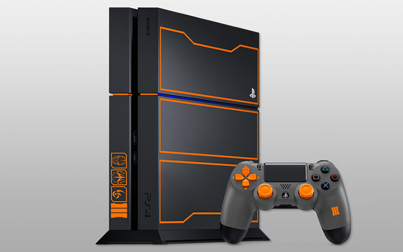 Meet the PS4 Limited Edition Black Ops III Bundle