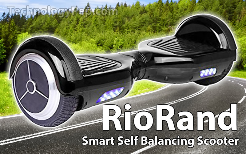 RioRand Two Wheels Smart Self Balancing Electric Scooter Reviews