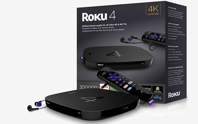 Roku 4 Has a Faster Quad-Core Processor and 4K Video Support
