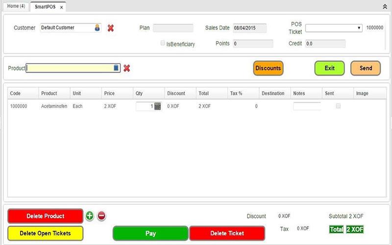 SmartPOS - 5 Best Free Restaurant Management Software For Your Restaurant Business