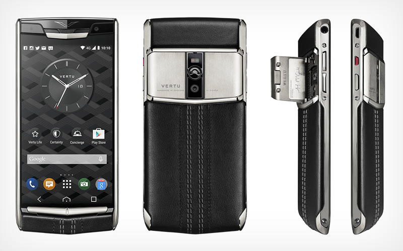 Vertu's Signature Touch Smartphone Will Probably Set You Back a Lot, But Its Power Defines its Huge Price