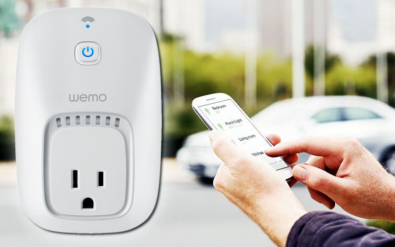 WeMo Switch Let's You Control Electronics