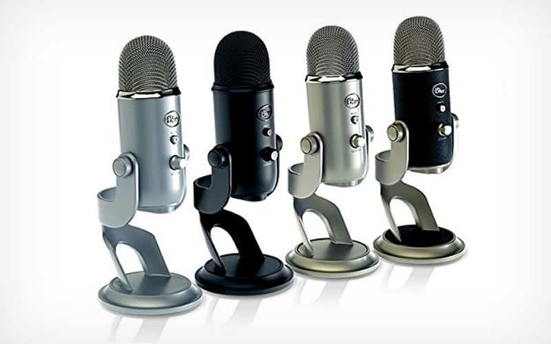 Yeti Creates Versatility With the Blue USB Microphone - Blackout Edition