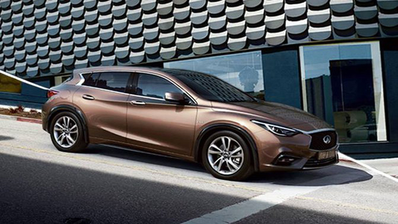 2017 Infiniti Q30 - A Different Take on Style