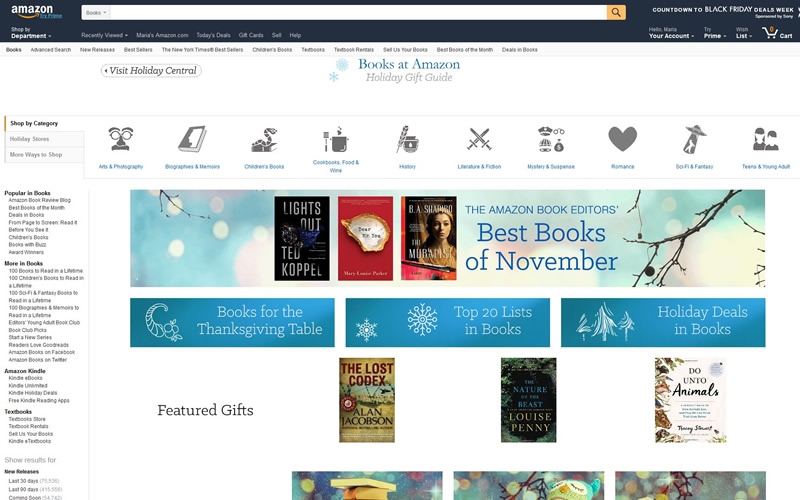 Amazon Book Store Review - Get Your Favorite Book at Best Price