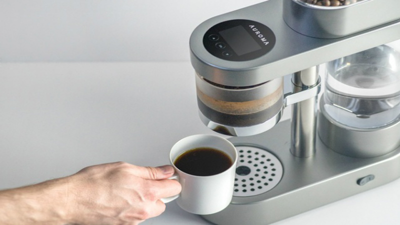 Auroma One - Your Web-Connected Coffeemaker