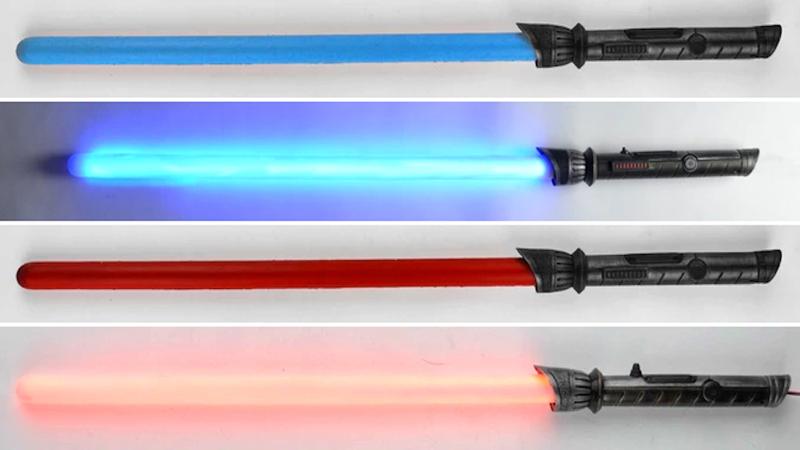 Calimacil Foam LEDsaber - All the Force, Minus the Hurt