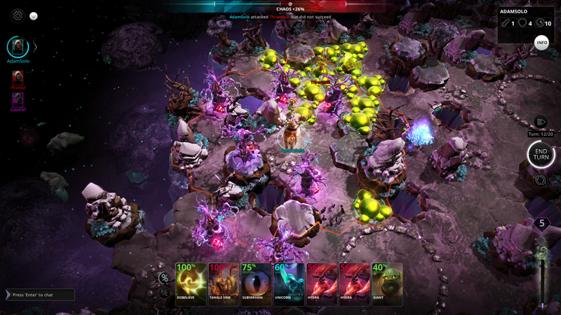 Chaos Reborn Review - Live or Die