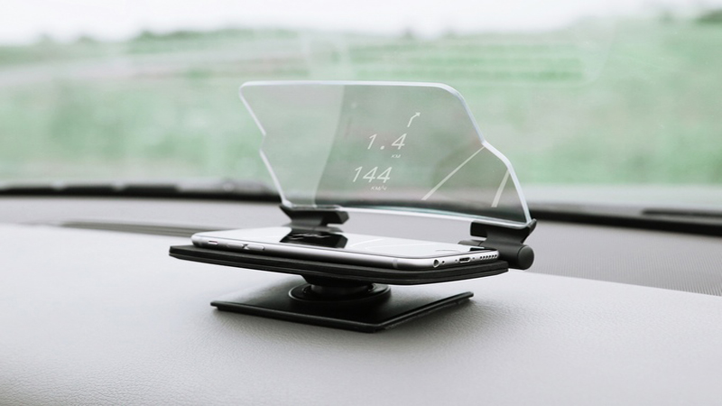 HUDWAY Glass - Turn Your Smartphone Into a Head-Up Display for Any Car