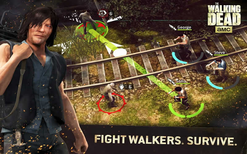 How To Play The Walking Dead No Man's Land APK on Laptop Computer or Windows Tablet