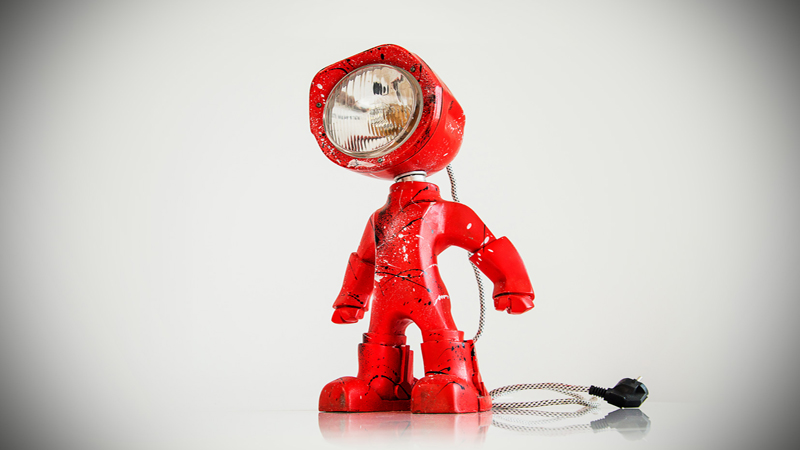 Lampster - The Lamp With an Attitude