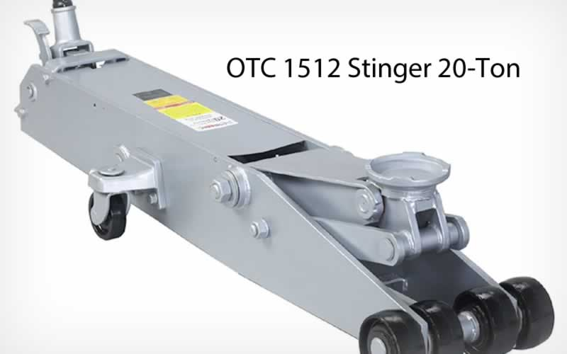 OTC 1512 Stinger 20-Ton Service Jack Review