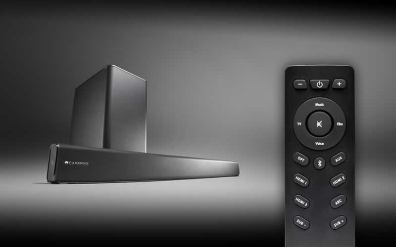 The Cambridge Audio TVB2 Has an Inconspicuous Yet Modern Design That Delivers Great Sound Quality