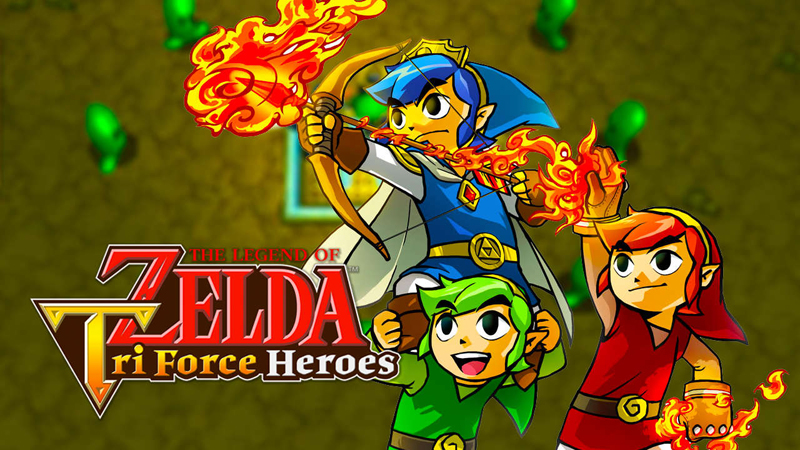 The Legend of Zelda: Tri Force Heroes Review - Controlling Three Links Can be Fun