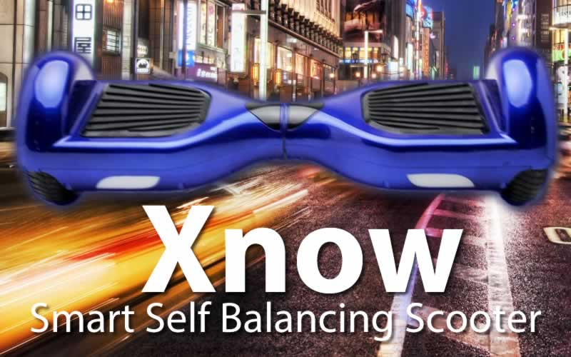 Xnow Smart Self Balancing Scooter - The affordable balance wheel standing scooter