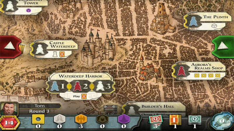 D&D Lords of Waterdeep Review - Deceptively Nothing Like the Tabletop RPG
