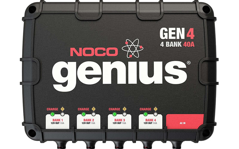 Enable Fast, Safe, and Durable Charging with the NOCO Genius GEN4