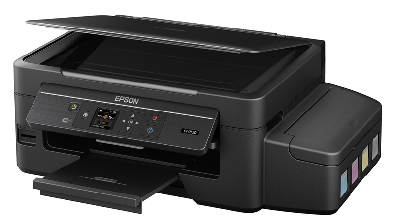 Epson EcoTank ET-2550 Review - Holds Enough Ink to Last for Two Years