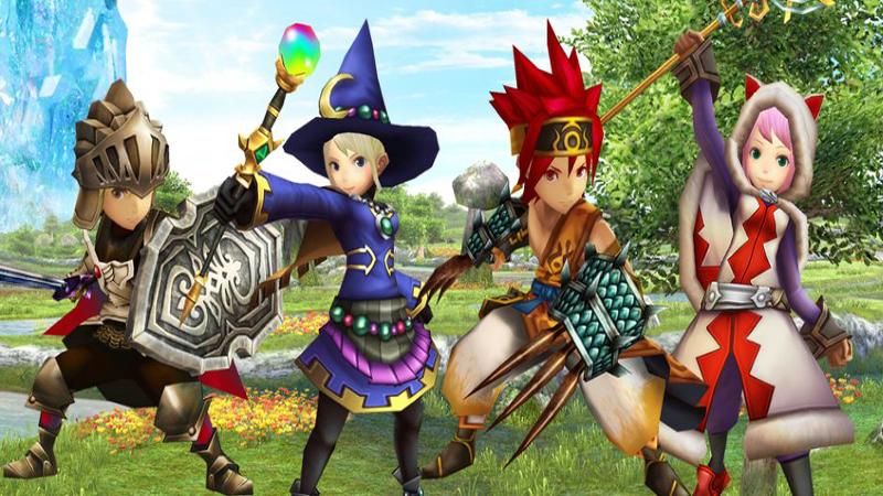 Final Fantasy Explorers - Monster Hunter Meets Square Enix