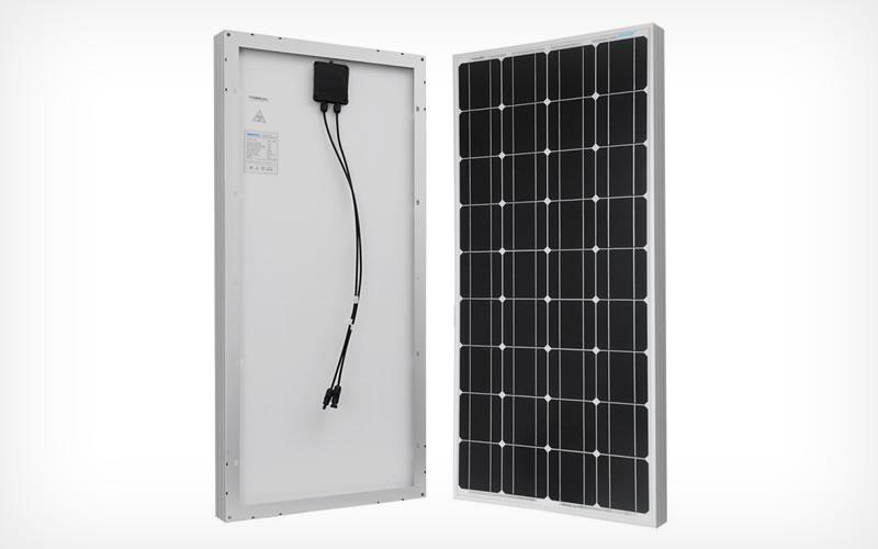 Get Your Energy Needs With the Renogy 100 Watts Monocrystalline Solar Panel
