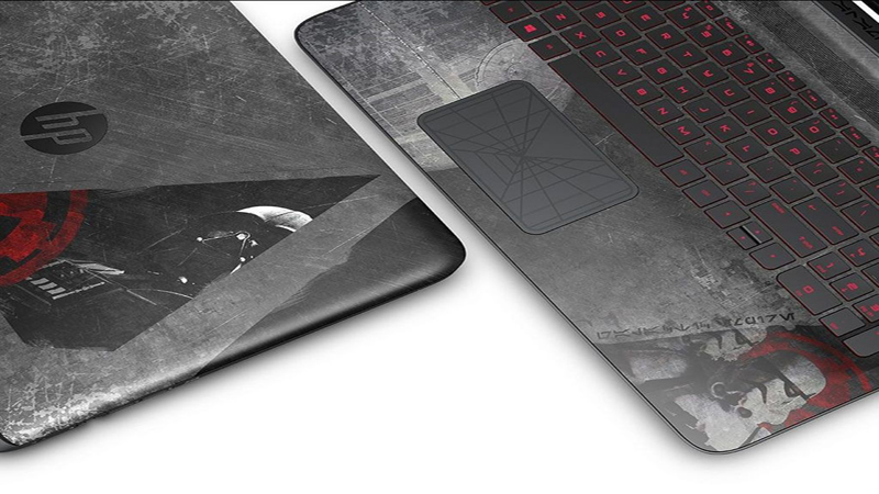 HP Star Wars Special Edition Notebook Review - Join the Dark Side