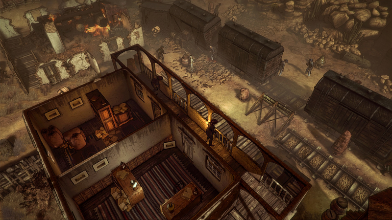 Hard West Review - Not You're Fast-Paced Shoot-'Em-Up