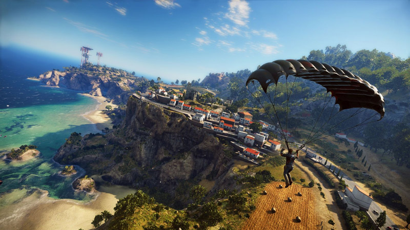 Just Cause 3 Review - Be Loud and Blow Up Everything in Sight