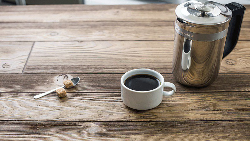 Kitchenaid Precision Press Coffee Maker Review - Adding More Tech and a Built-in Scale