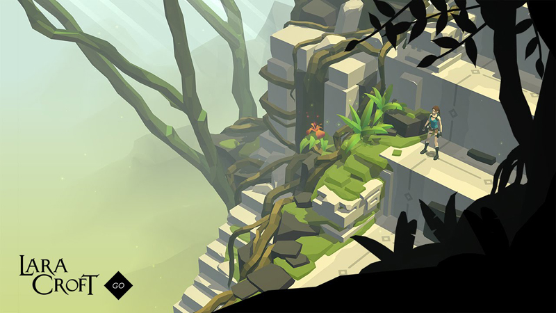 Lara Croft GO (iPad) Review - Tomb Raiding on a Smaller Scale