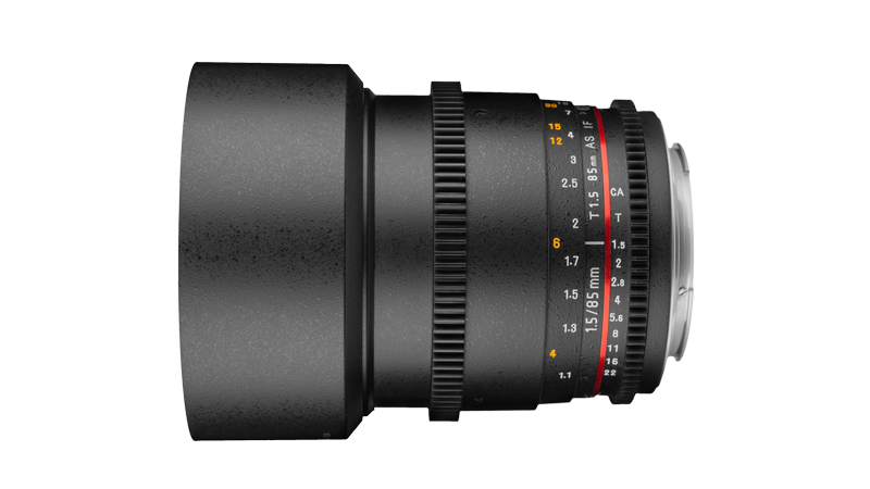 Rokinon 85mm T1.5 Cine DS Review - Geared for Movie-Makers