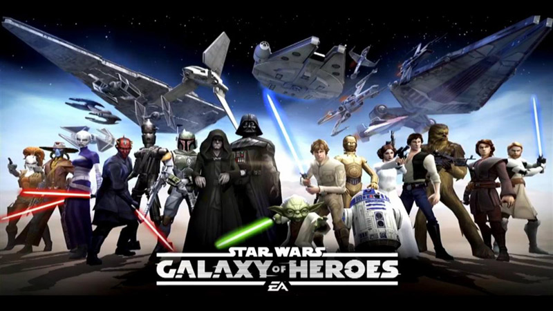 Star Wars: Galaxy of Heroes Review - Simple But a Bit Confusing