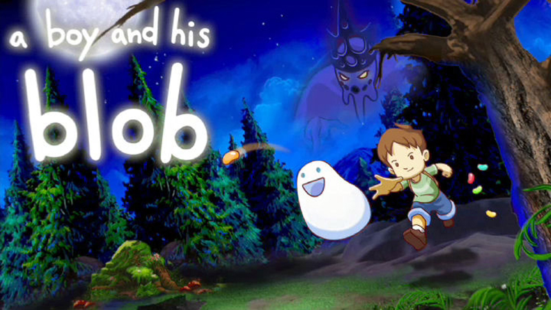 A Boy and His Blob Review - Hug Away