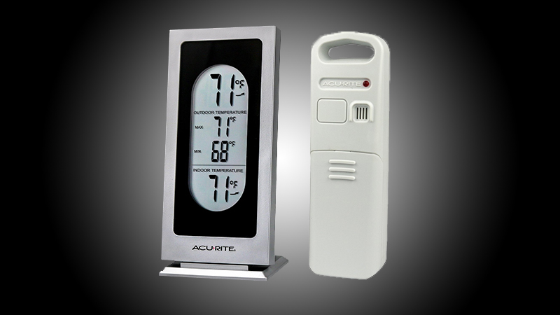 AcuRite Wireless Digital Weather Thermometer Review - Does What It's Supposed to do, But the Display Could be Better