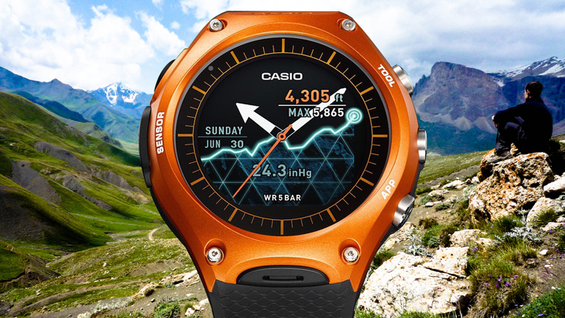 Casio Smart Outdoor Watch WSD-F10 - One of the Larger Ones
